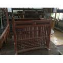 Cage à oiseau, bois, ancienne