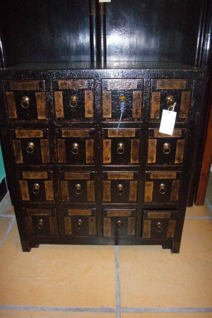 Chine f vrier 2010 m10 819 l51 vendu m10 819 l51 for Meuble apothicaire ancien
