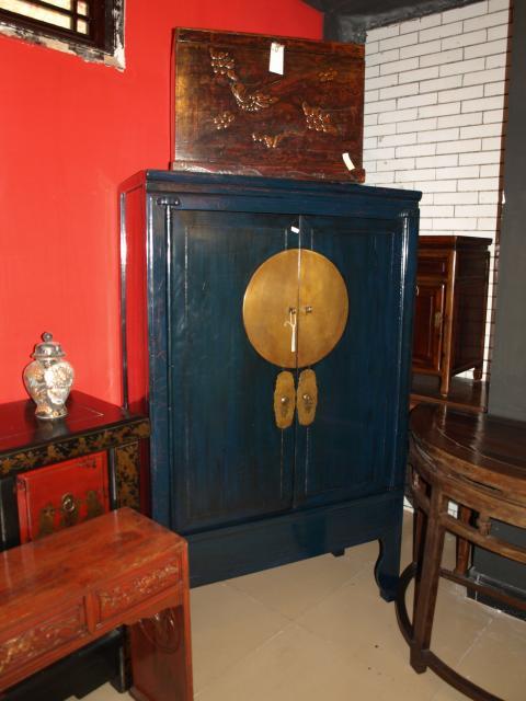vendu m10 91362 armoire de mariage ancienne ningbo dim l 106 x 58 pf x 173 ht chf 1310 - Armoire De Mariage Chinoise